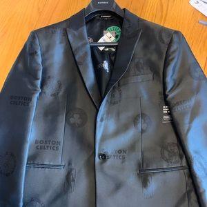 Express Boston Celtics NBA Suit Jacket - NEW 42R🔥